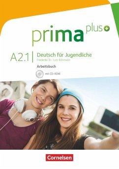 prima plus A2: Band 1. Arbeitsbuch mit CD-ROM - Rohrmann, Lutz