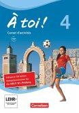 À toi ! Band 4 - Carnet d'activités mit Audio-Materialien und Abschlussprüfungstrainer