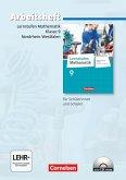 Lernstufen Mathematik 9. Schuljahr. Arbeitsheft mit eingelegten Lösungen und CD-ROM. Differenzierende Ausgabe Nordrhein-Westfalen