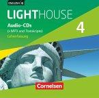 English G Lighthouse - Allgemeine Ausgabe: 8. Schuljahr, Audio-CDs (Vollfassung) - Audio-Dateien auch als MP3 / English G Lighthouse, Allgemeine Ausgabe 4