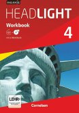 English G Headlight 04: 8. Schuljahr. Workbook mit CD-ROM (e-Workbook) und Audios online
