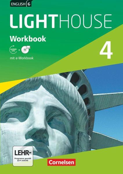 english g lighthouse 4 8 schuljahr workbook mit cd rom e workbook und audio cd schulbuch. Black Bedroom Furniture Sets. Home Design Ideas