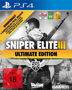 Sniper Elite III - Afrika (Ultimate Edition) (PlayStation 4)