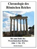 Chronologie des Römischen Reiches (eBook, ePUB)
