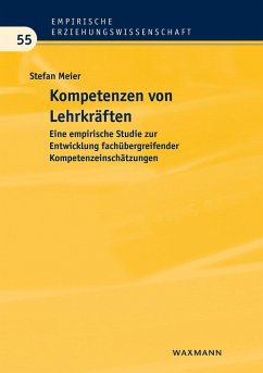 Kompetenzen von Lehrkräften - Meier, Stefan