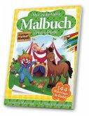 Mein zauberhaftes Malbuch - Zirkus & Pferde