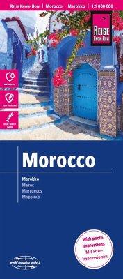 Reise Know-How Landkarte Marokko; Morocco