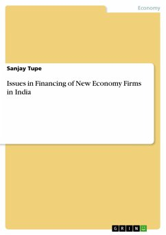 Issues in Financing of New Economy Firms in India