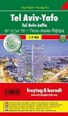Freytag & Berndt Stadtplan Tel Aviv - Yaffo, City Pocket + The Big Five; Tel Aviv - Jaffa