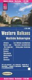 Reise Know-How Landkarte Westliche Balkanregion. Western Balkans / Les Balkans occidentaux / Balcanes occidentales