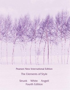The Elements of Style - Strunk, William, Jr.; White, E. B.