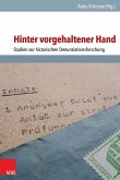 Hinter vorgehaltener Hand (eBook, PDF)