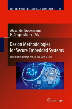 Design Methodologies for Secure Embedded Systems