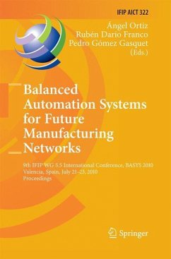 Balanced Automation Systems for Future Manufacturing Networks