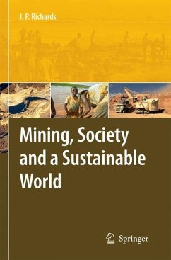 Mining, Society, and a Sustainable World