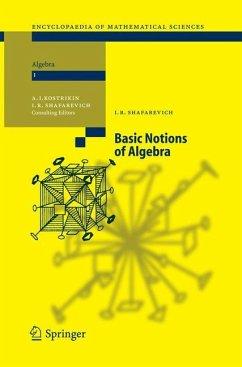 Basic Notions of Algebra - Shafarevich, Igor R.