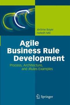 Agile Business Rule Development