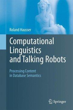 Computational Linguistics and Talking Robots