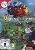 Purple Hills: Vögel vs. Katzen (3-Gewinnt-Spiel)