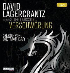 Verschwörung / Millennium Bd.4 (1 MP3-CDs) - Lagercrantz, David