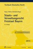 Staats- und Verwaltungsrecht Freistaat Bayern 2015