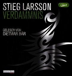 Verdammnis / Millennium Bd.2 (2 MP3-CDs) - Larsson, Stieg