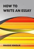 How to Write an Essay, Workbook 1 (College Writing, #1) (eBook, ePUB)