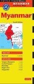 Myanmar Travel Map Fourth Edition (eBook, ePUB)