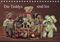 Die Teddys sind los (Tischkalender 2016 DIN A5 quer)