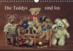 Die Teddys sind los (Wandkalender 2016 DIN A4 quer)