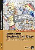 Stationenlernen Geschichte 7./8. Klasse - Band 2 (eBook, PDF)