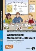 Wochenpläne Mathematik - Klasse 3