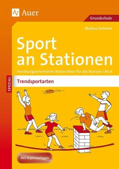 Sport an Stationen Spezial Trendsportarten 1-4 - Sommer, Markus
