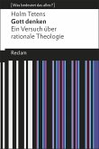 Gott denken (eBook, ePUB)
