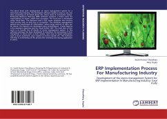 ERP Implementation Process For Manufacturing Industry