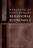 Handbook of Contemporary Behavioral Economics (eBook, ePUB)