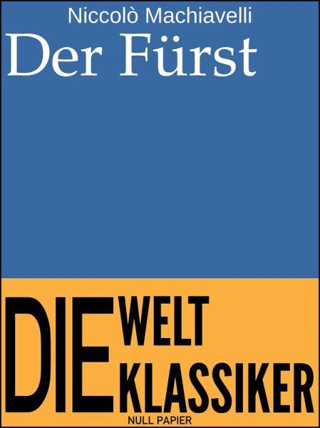 Der Fürst (eBook, PDF)
