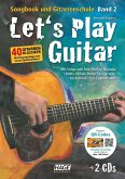 Let's Play Guitar, m. 2 Audio-CDs + DVD