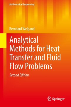 Analytical Methods for Heat Transfer and Fluid Flow Problems