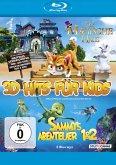 3D Hits für Kids: Das magische Haus / Sammys Abenteuer / Sammys Abenteuer 2 BLU-RAY Box