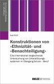 Konstruktionen von »Ethnizität« und »Benachteiligung« (eBook, PDF)