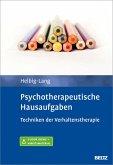 Psychotherapeutische Hausaufgaben (eBook, PDF)