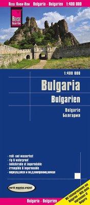 Reise Know-How Landkarte Bulgarien (1:400.000); Bulgaria; Bulgarie