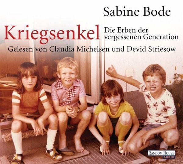 Kriegsenkel, 4 Audio-CDs - Bode, Sabine