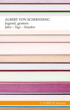 Jugend, gestern (eBook, ePUB) - Schirnding, Albert