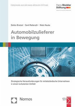 Automobilzulieferer in Bewegung (eBook, PDF) - Bratzel, Stefan; Retterath, Gerd; Hauke, Niels