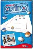 Noris Spiele 606171432 - Table Curling, Tisch-Curling, Spielfeld 120 X 40 cm