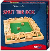 Noris 606108013 - Shut the Box, Deluxe Set, Würfelspielklassiker