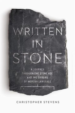 Written in Stone: A Journey Through the Stone Age and the Origins of Modern Language - Stevens, Christopher