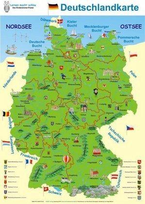 Länder deutschland angrenzende karte an Spanien: Landkarte